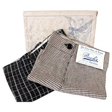 Antique Boys Pants w Tag and Box