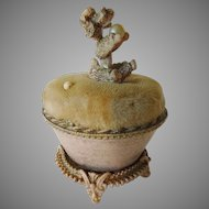 Vintage French Poodle Pin Cushion