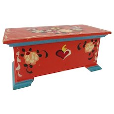 Doll House Blanket Chest - D. Kuhn - West Germany