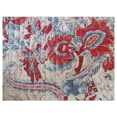 Vintage Indienne Print Quilted Bedspread