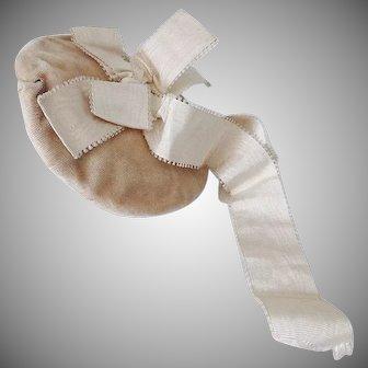 Victorian Dolls Velvet Hat