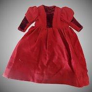 Victorian Dolls Dress Circa 1870-80s