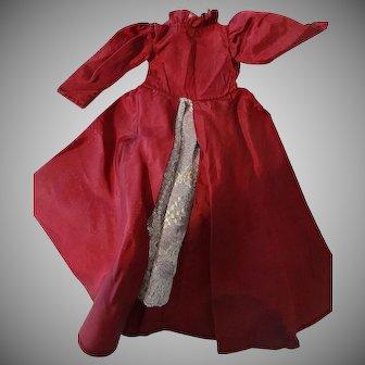 Victorian Dolls Taffeta and Lace Dress