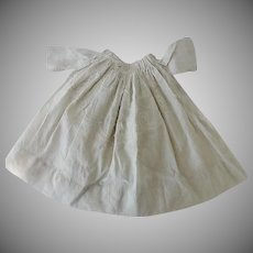 Victorian Dolls Embroidered Dimity Dress
