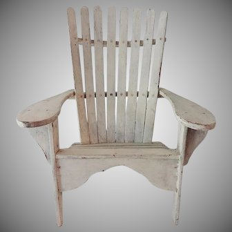 Old Doll's Adirondack Lawn Chair