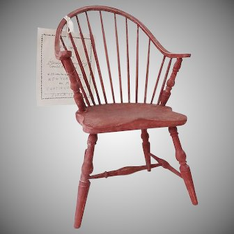 Doll Windsor Chair - Artist Signed