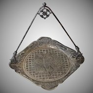 Victorian Silver Plate Tufts Server