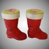 Vintage Santa Claus Boots Ornaments