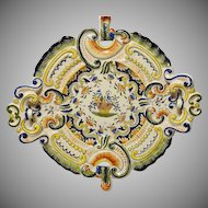French Faience Serving Dish