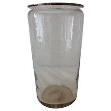 Antique Blown Glass Jar