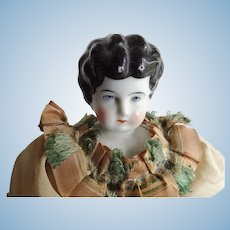 Antique China Head Doll with Clothes