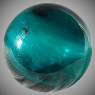 Rare Sandwich Glass Cover Ball 1825-1850s