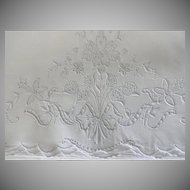 Old Madeiria Embroidered Pillow Case