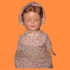 1920s Composition Mama Doll