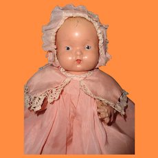 "12"" Pretty in Pink Bent Limb Composition Baby Doll ~ Cutie"