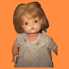 Effanbee Wigged Patsy Ann Composition Doll ~ Pretty