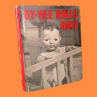 Dy-Dee Doll's Days  ~ Book ~   Dy-Dee Baby Doll Effanbee