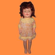 "20"" Horsman Composition Girl Doll"