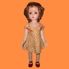 "18"" Maggie Walker Red Head Hard Plastic Doll by Madame Alexander"