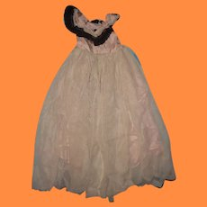 "Authentic Ball Gown for Effanbee 27"" Little Lady or Anne Shirley Composition Doll"