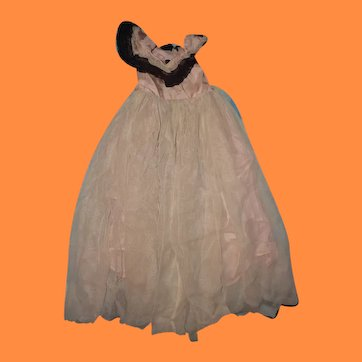 """Authentic Ball Gown for Effanbee 27"""" Little Lady or Anne Shirley Composition Doll"""