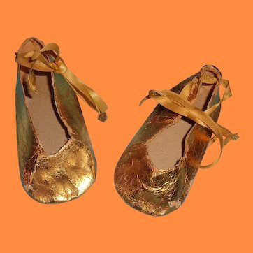 """Shoes for 27"""" Little Lady or Anne Shirley or Southern Belle Large Composition Doll"""