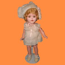 "Ideal 14"" Factory Original Composition Doll ~ Really cute"