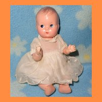 """Effanbee 7"""" Composition Baby Doll ~ Very cute"""