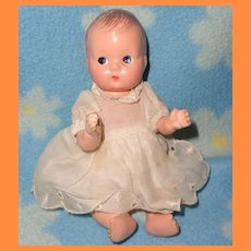 "Effanbee 7"" Composition Baby Doll ~ Very cute"