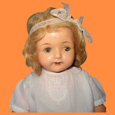 "Effanbee 24"" Rosemary Composition Mama Doll ~ Very Pretty"