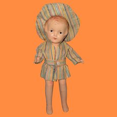 "Swimming Fun Nancy by Arranbee 12"" Composition Doll ~ Adorable"