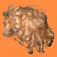 """Authentic Ideal 18"""" Shirley Temple Mohair Wig"""