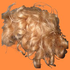 "Authentic Ideal 18"" Shirley Temple Mohair Wig"