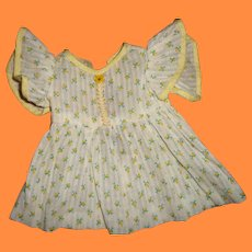 "Sweet Dimity Dress for 11"" Dy-Dee Baby Or Tiny Tears Doll and Friends"