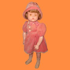 "Beautiful Factory Original Patsy Ruth 26"" Composition Doll by Effanbee"