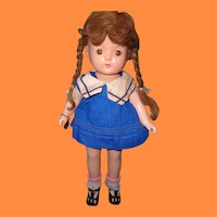 Effanbee Factory Original Patricia in 2pc Sailor Outfit Composition Doll