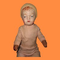 Very Early Composition Boy Baby Doll