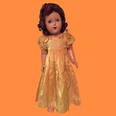 "24"" Princess Elizabeth Composition Doll in Original Factory Gown"
