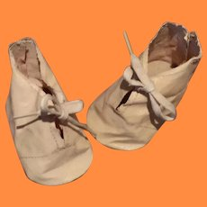 Large Oil Cloth Shoes for Composition or Bisque Doll