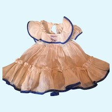 Nice Dress for Larger Composition or Bisque Doll