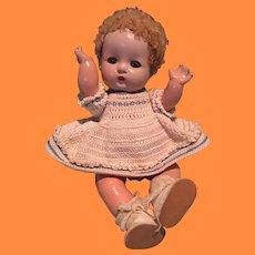 Adorable Effanbee Patsy Babyette Composition Doll ~ Cutie