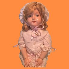 """Effanbee Early Ball Jointed 19"""" Composition Doll"""