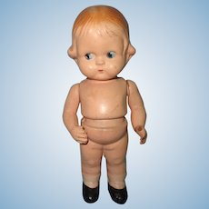 Early Amberg Composition Body Twist Doll ~ cutie