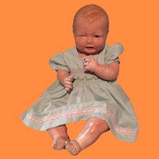 "26"" Large Effanbee Bubbles Composition Baby Doll ~ TLC Parts Repair"