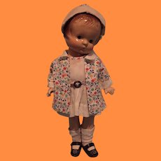 """Lovely Dress and Coat Set for Effanbee 11"""" Patsy Jr Composition Doll"""