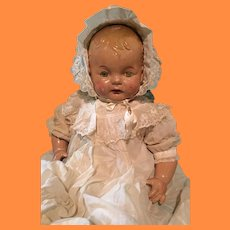 """HTF 25"""" Effanbee Sugar Baby TLC Composition Doll ~ Parts Repair"""