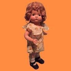 "Effanbee Wigged Patsy Composition 14"" Doll ~ Sooo Sweet"