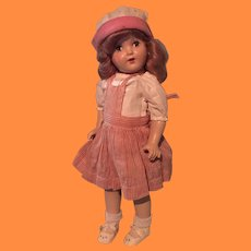 """19"""" Candy Striper Composition Doll"""
