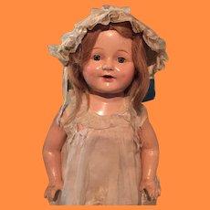 "Factory Original 20"" Composition Doll ~ nice"