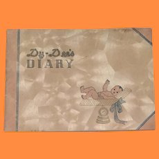 Authentic Effanbee Dy-Dee Baby Diary